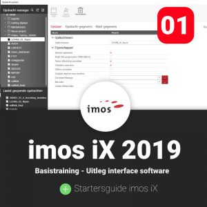 Basistraining imos iX interface van de software